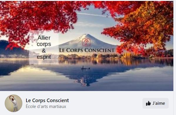 Nouveau : retrouvez le Corps Conscient sur Facebook